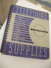 1950 Telephone Supplies Catalog - Automatic Electric CD