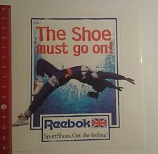 ADESIVI/Sticker: Reebok the Shoe Must Go On (27011779)