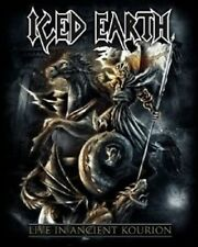 ICED EARTH - LIVE IN ANCIENT KOURION (LIMITED EDITION) BLU-RAY + DVD + 2 CD NEU