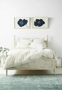 Anthropologie Joey Washed Percale Duvet Cover Full