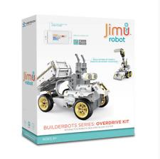 JIMU Robot BuilderBots Overdrive Kit DozerBot DirtBot Codable JRA0203 NEW SEALED