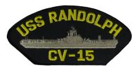 USS RANDOLPH CV-15 PATCH USN NAVY SHIP ESSEX CLASS AIRCRAFT CARRIER MERCURY