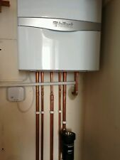 Vaillant eco tec 832 ERP boiler supply & fit w/ Wireless Room Stat & Flush