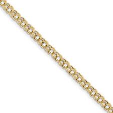 Pulseras de joyería de metales preciosos sin piedras de oro amarillo de 10 quilates