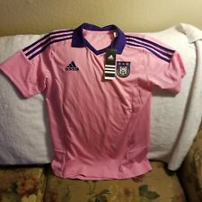 ANDERLECHT SOCCER JERSEY - YOUTH LARGE - THROWBACK - ADIDAS - NWT