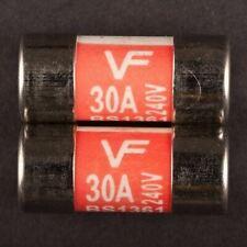 5x backup sottili 6x30mm 20 AMPER 250v tubo di vetro fusibili fuse gs813