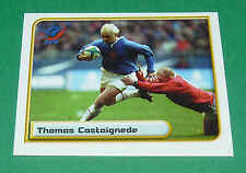 N°120 CASTAIGNEDE XV FRANCE MERLIN IRB RUGBY WORLD CUP 1999 PANINI COUPE MONDE