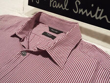 "PAUL SMITH Mens Shirt 🌍 Size 16"" (CHEST 40"") 🌎 RRP £95+📮 SUPERBLY STRIPED"