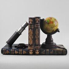 Pair of Book Ends | Globe & Telescope