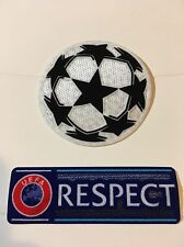 PATCH BADGE PARCHE INSIGNIA CHAMPIONS LEAGUE 2015-16 WITH RESPECT