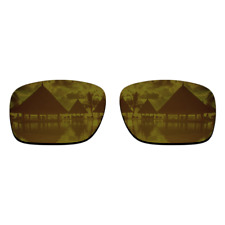 Polarized Copper Gold Mirrored Replacement Lens for-Oakley Holbrook