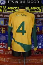 4/5 Meath GAA adults L #4 gaelic football shirt jersey trikot