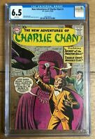 New Adventures of Charlie Chan #1 1958 White Pages CGC 6.5 1968748003