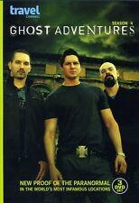 Ghost Adventures: Season 4 [3 Discs] (2012, REGION 1 DVD New)