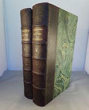 PROSPER MERIMEE / LETTRES A M. PANIZZI / 1881 CALMANN LEVY (complet en 2 vol.)