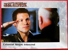 BATTLESTAR GALACTICA - Premiere Edition - Card #50 - Colonial Ships Inbound
