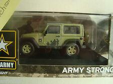 Jeep Wrangler americano esercito Strong Hard In alto Verde 1:43 Modello 86042