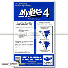 50 - Mylites 4 Standard 4-Mil Mylar Comic Book Bags by E. Gerber - 725M4