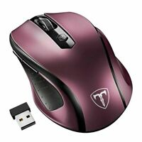 VicTsing MM057 Wireless Mouse 2.4Ghz Ergonomic Design Optical Mice 6 Buttons 240