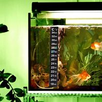 1/5/10pcs Aquarium Fish Tank Thermometer PET Temperature Sticker Stick-on Strip