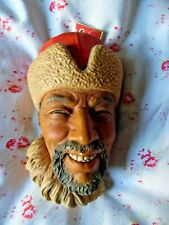 Vintage 1966 - Bossons Himalayan Plaster Model Head - wall hanging