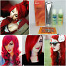 Berina A23 and Bleacher Hair Color Cream, Bright Red, Permanant Super Hair Dye