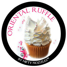 Nifty Nozzles - XL - 229 - Oriental Ruffle Ball Tip - Genuine Russian Piping Tip
