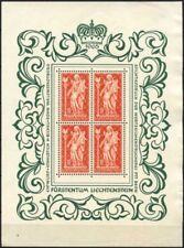 Mint Never Hinged/MNH Cats Liechtenstein Stamps