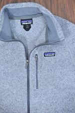 Patagonia Better Sweater Full Zip Jacket Oatmeal Gray Men's Medium M