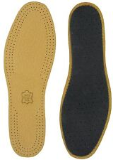 LEATHER FULL LENGTH SHOE & BOOT INSOLES - SIZE 10/11 Eur 44/45