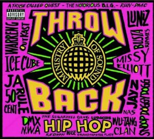 Ministry of Sound - Throwback Hip Hop (Various Artists) 3 CDs