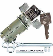 Jeep CJ7 1985-86 Ignition Key Switch Lock Cylinder Tumbler Barrel 2 Keys