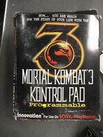 Playstation PSX PS1 Mortal Kombat 3 III Program Control Controller Joy Pad Stick
