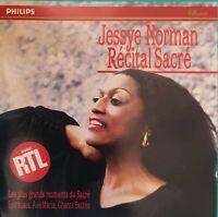 CD JESSYE NORMAN RÉCITAL SACRE Ref 3675