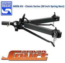 "NEW Hayman Reese 600lb 275kg Weight Distribution Hitch 30"" bars level riders"
