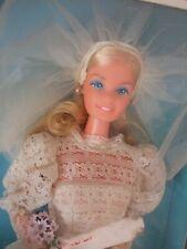 RARE VINTAGE Barbie European Beautiful Bride superstar NRFB 1976 ..Lovey doll