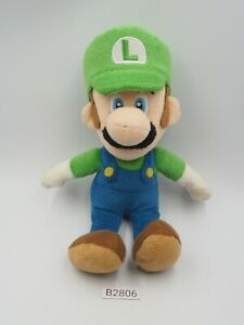 "Super Mario Luigi B2806 Sanei Plush 8"" Stuffed Toy Doll Japan SI212-172"
