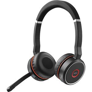 Jabra Evolve 75 UC Stereo Wireless Headset / Music Headphones