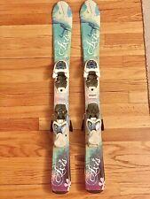 Axis Luna Youth Ski 92cm Gently Used Marker 4.5 Bindings
