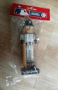 Kurt Adler New York Yankees Nutcracker Christmas Ornament MLB
