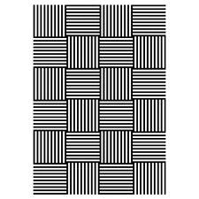 Efco Embossing Folder Linien Geflecht Prägeschablone 4254093