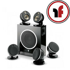 New Focal Dome Flax 5.1 in Black 5 Speakers & Sub Air Subwoofer package JMLabs