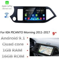 Android 9.1 Octa Core Car DVD GPS Player Stereo Navi for Kia Morning/Picanto 11-