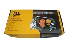 Jcb professional 7 piece air compressor kit air line accessories spray gun tools