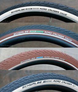 """28"""" x 1 1/2"""" Road Cruiser Bike TIRES 700x40 Schwalbe Vintage Wood Wheel Bicycle"""