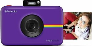 Polaroid Snap Touch 2.0 - Portable Instant Digital Camera - Purple - NEW SEALED