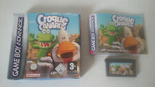 CROQUE CANARDS - NINTENDO GAME BOY ADVANCE - JEU GBA COMPLET