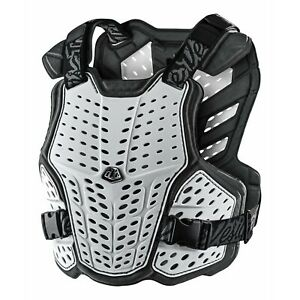 Troy Lee Designs Rockfight Chest Back Protector TLD Mx Motocross Enduro White
