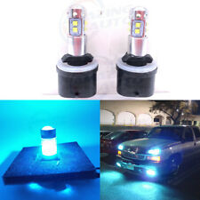 880 899 CREE LED Fog Light Bulbs Conversion Kit Canbus 8000K Ice Blue 55W