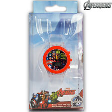 Orologio Digitale da Polso Avengers Con Luce LED in Scatola Regalo Kids Euroswan